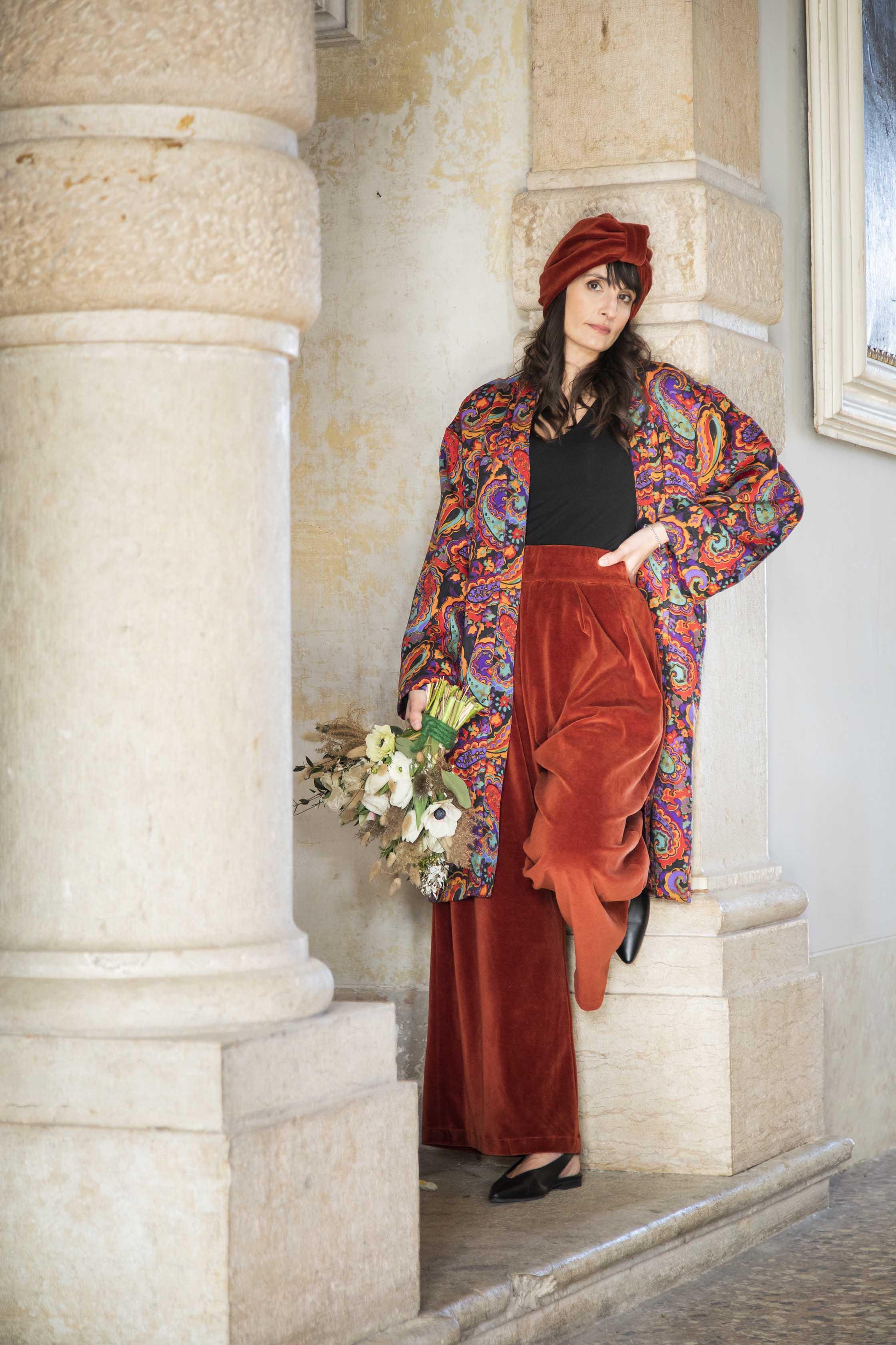 Kimono lungo Iris